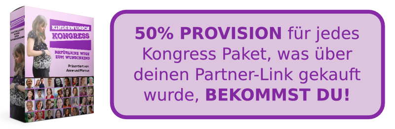 Partnerprogramm Kongress Paket